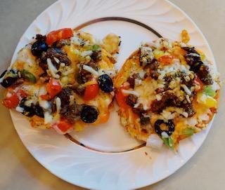 Vegan Pizza Bagels
