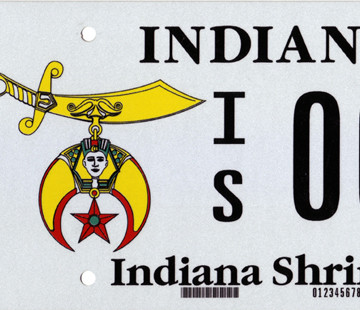 Shrine License Plates