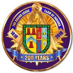 """2018 """"Honoring Indiana's 200th Anniversary as a Grand Lodge"""""""