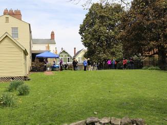 Schofield House - Back Yard