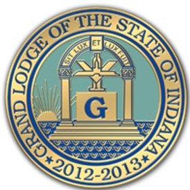 "2013 ""Grand Lodge of Indiana Seal"""