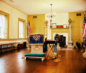 Schofield House - Lodge Room Alter