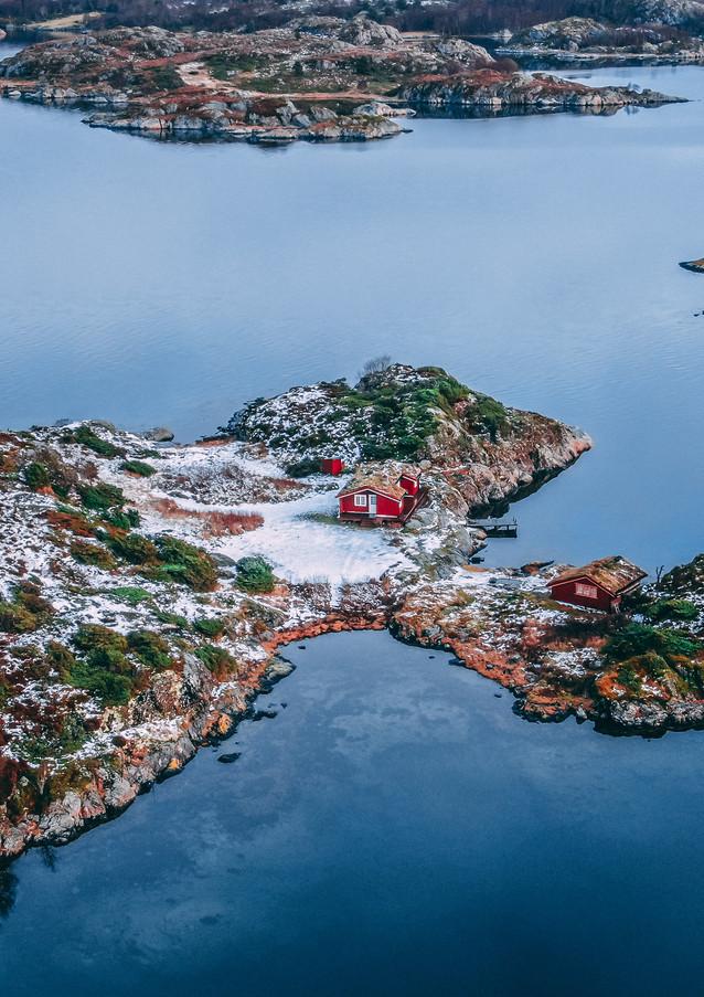 Melandsjø Hitra Norway