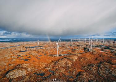 Wind Park Hitra Norway