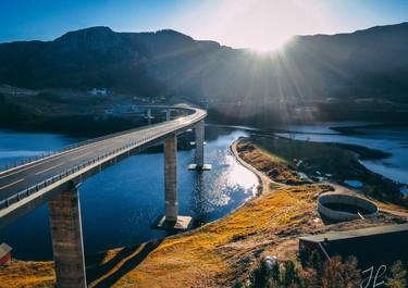 Åstfjordbrua Bridge Norway