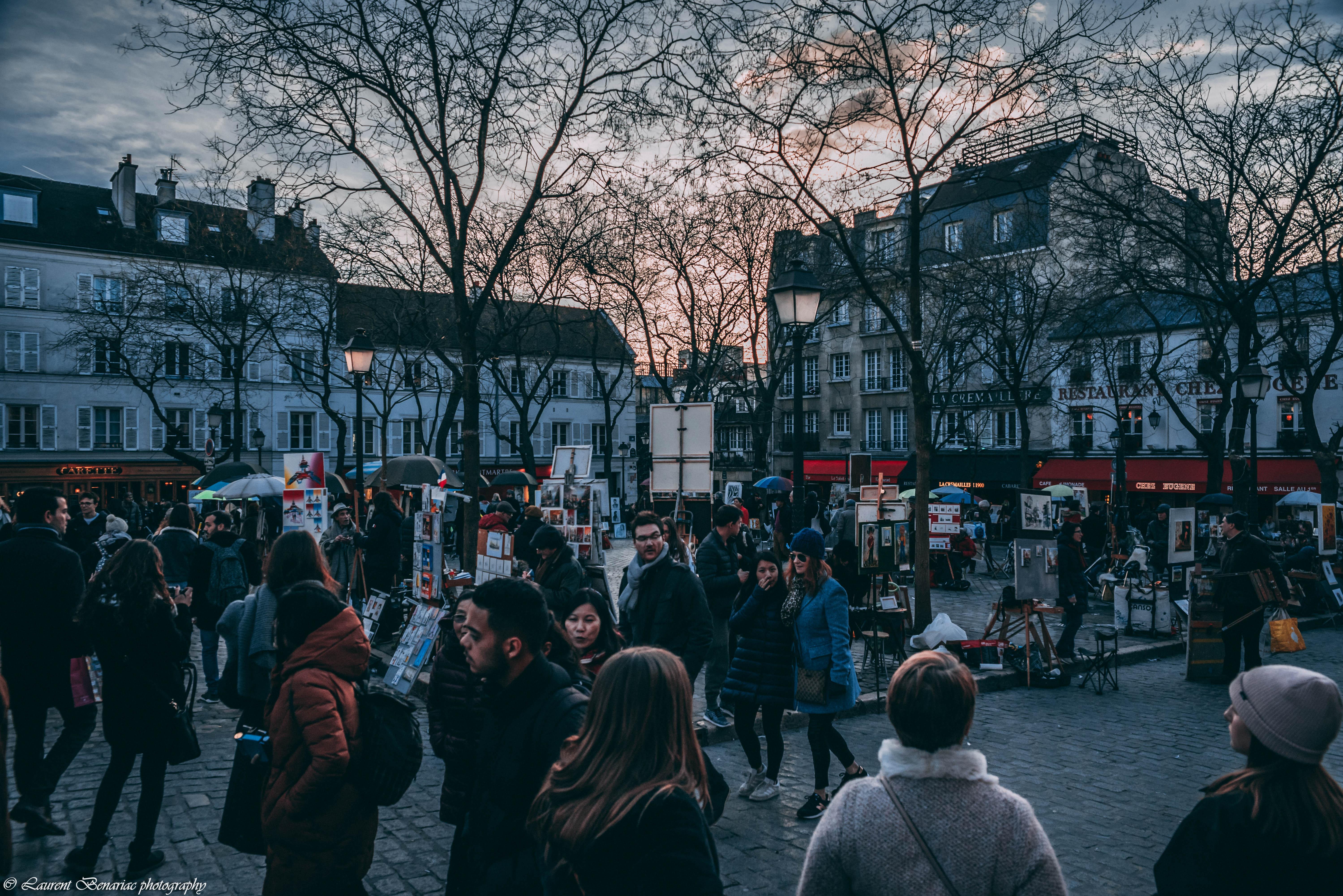 place du Tertre à Montmartre