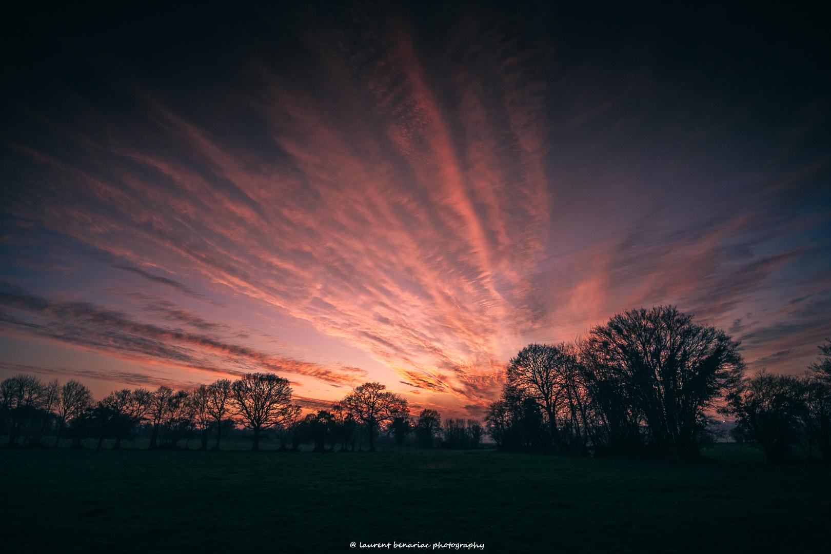 Coucher de soleil Basse Normandie