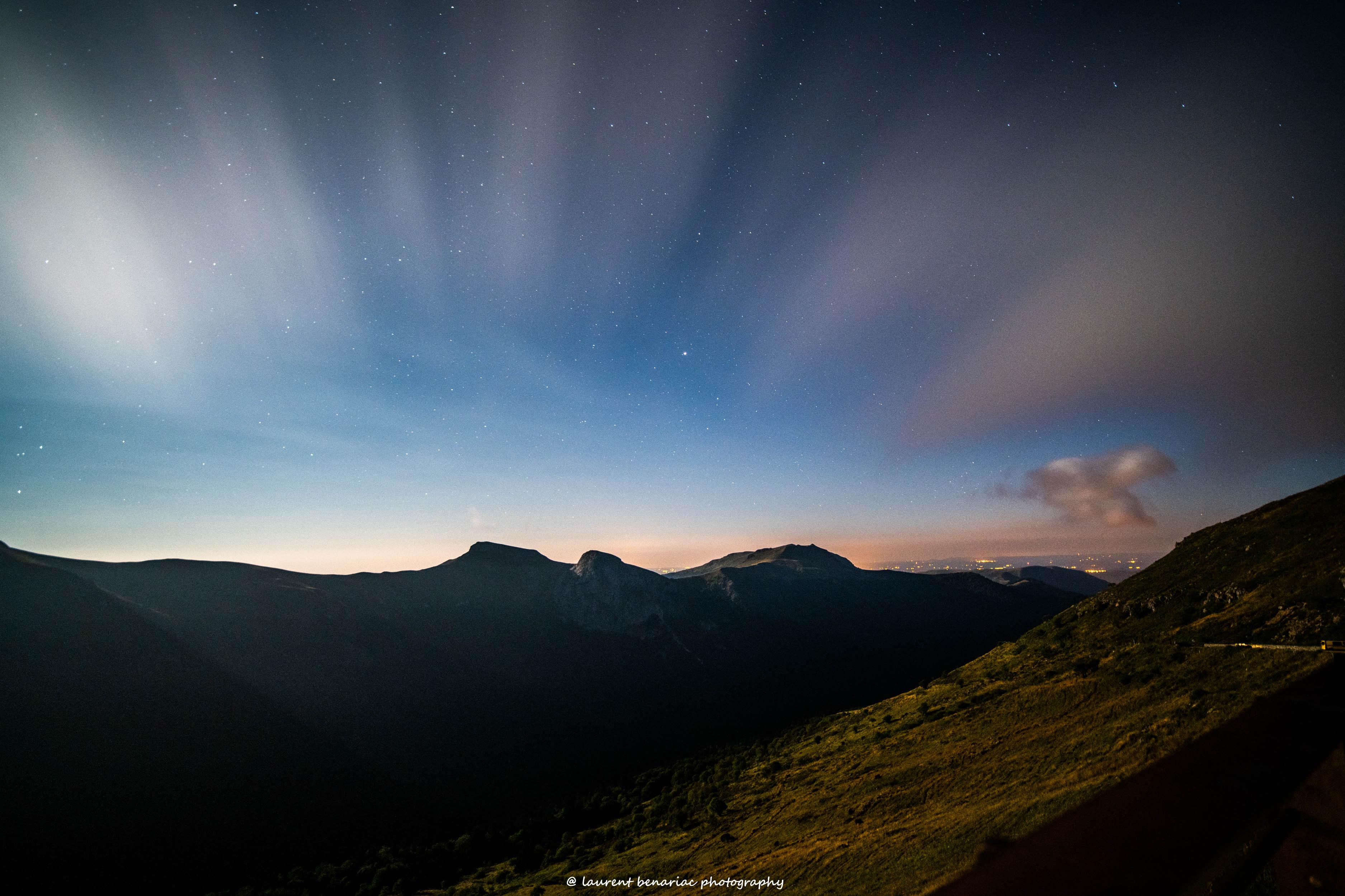 chaine de montagne du Puy Mary
