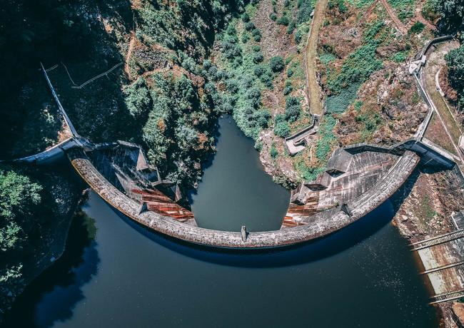 Barrage du Gour Noir Auvergne