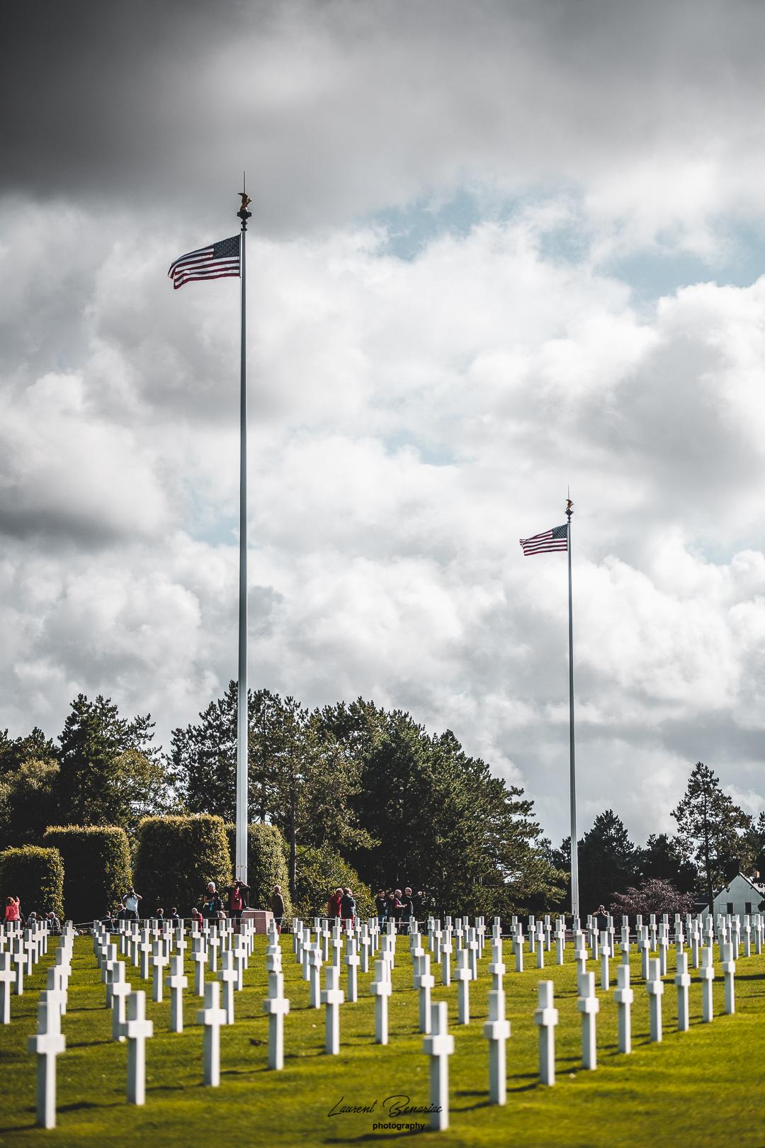 cimetière Américain de Colleville-Sur-Me