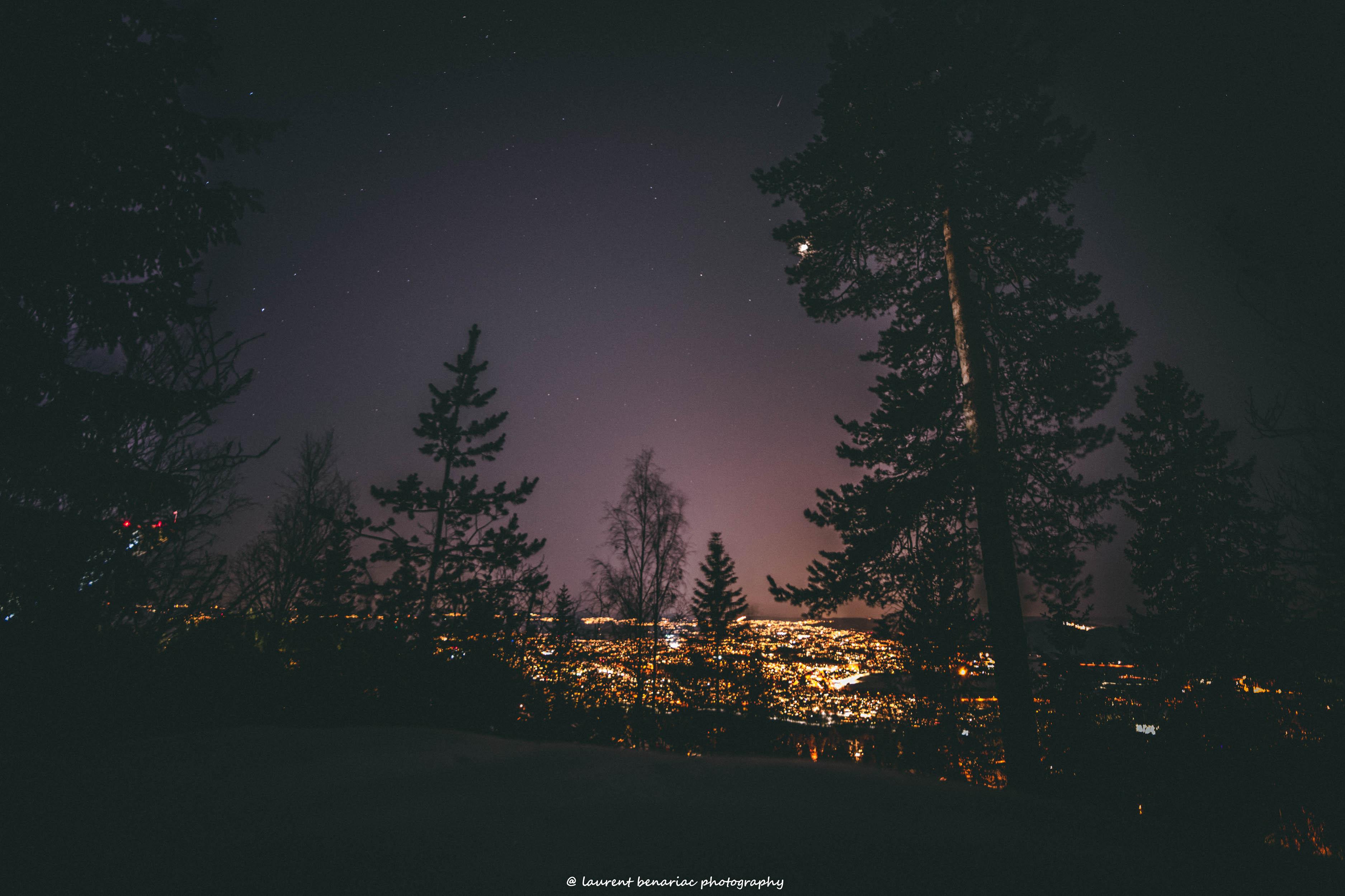 sortie de nuit en Norvège