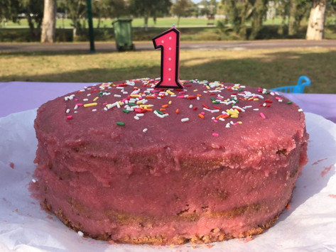 Let's party! It's time for birthday cake