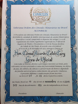 Diploma Letra Gotica Alemã