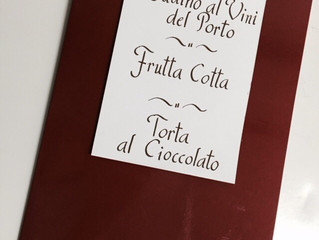 Cardápios Gourmet - A caligrafia deixa mais atraentes os cardápios de restaurantes e eventos