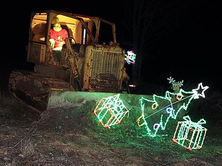 Grinch, Christmas lights