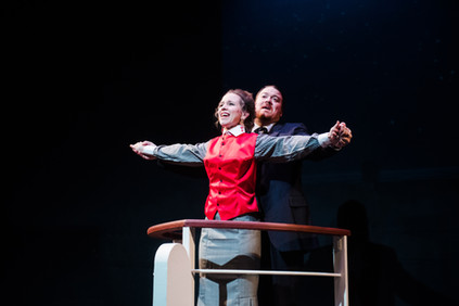 Homage to another Titanic production - Titanic the Musical