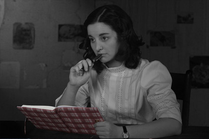 An exact replica of the famous diary was created for the production.