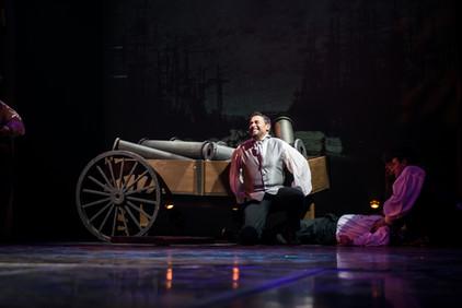 Valjean saves a man's life