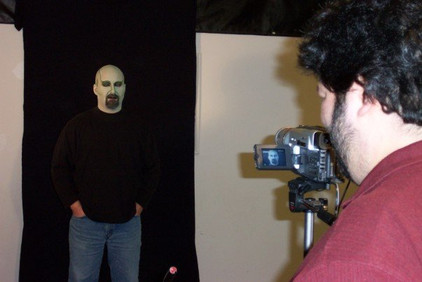 Filming the wizard