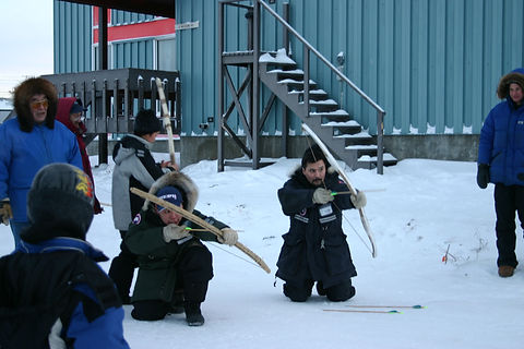 Kugluktuk Elder Joseph Niptanatiaq targe