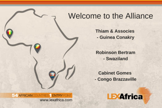 LEX Africa Welcomes 3 New Members to the Alliance