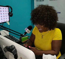 Porsha on the airwaves!