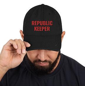 Republic Keeper Distressed Dad Hat