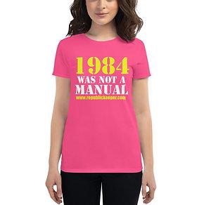 1984 - Women's short sleeve t-shirt