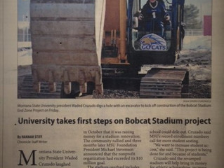 Bobcat Stadium 'End Zone' Project