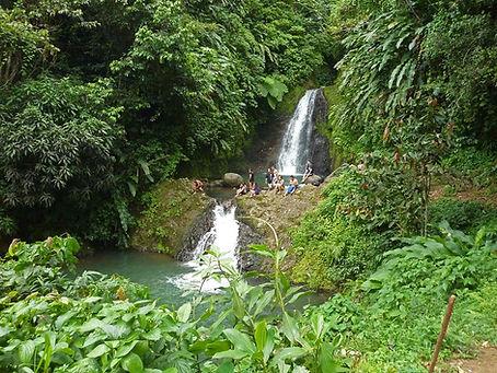 Seven sisters waterfalls Grenada
