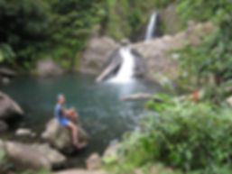 Seven sisters waterfall Grenada