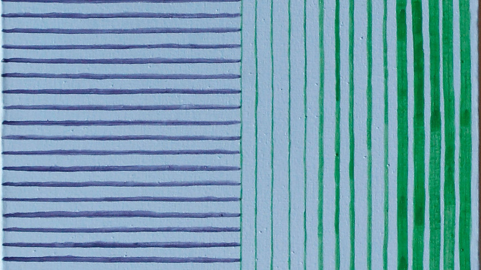 Dicotomía. Acrílico-lienzo (30x101 cm)