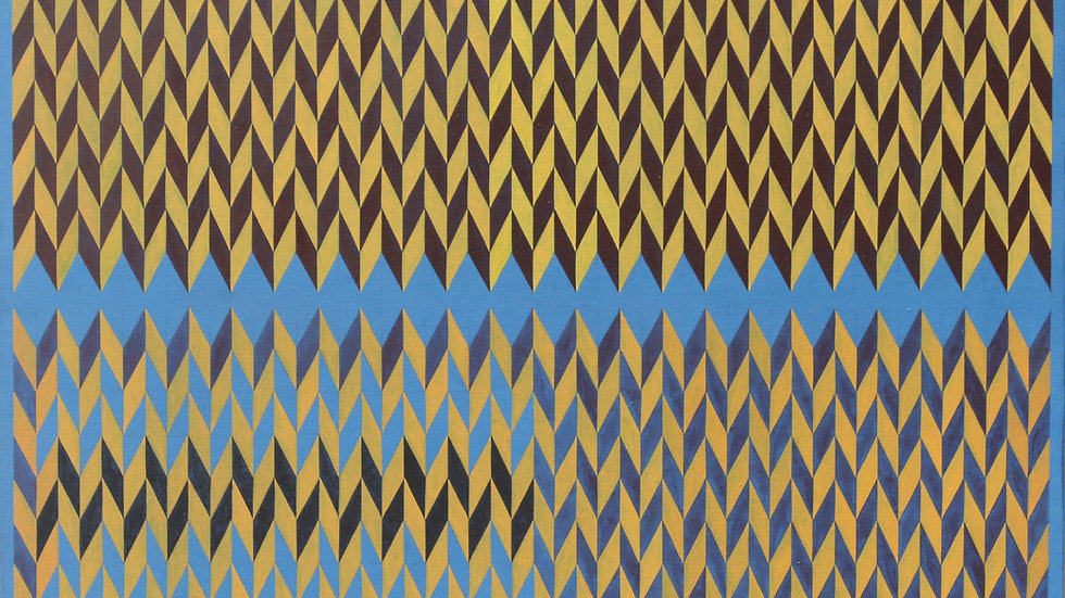 Triángulos.Acrílico-lienzo (75x56 cm)