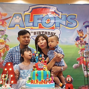 Alfons' 1st Birthday