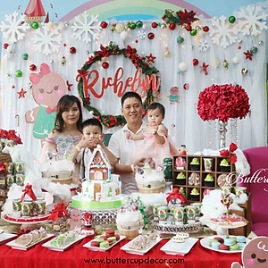 Richelyn's 1st Birthday in Cookies House