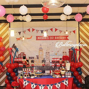 London theme Birthday!