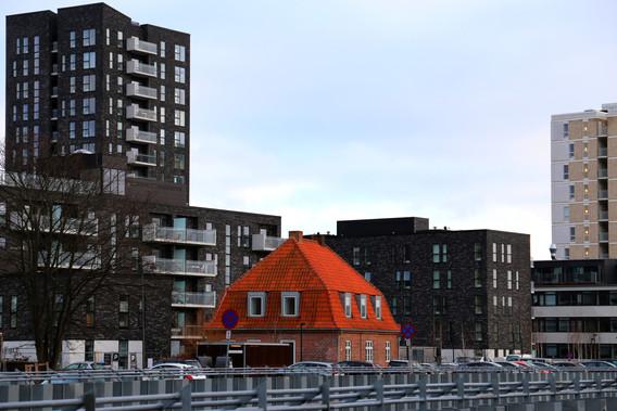 Nybyggeri ved Amager Strand