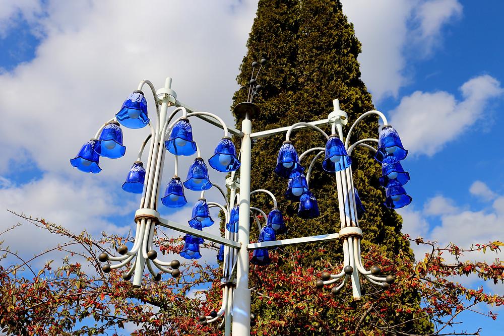 Lampe i Haveforeningen Vennelyst