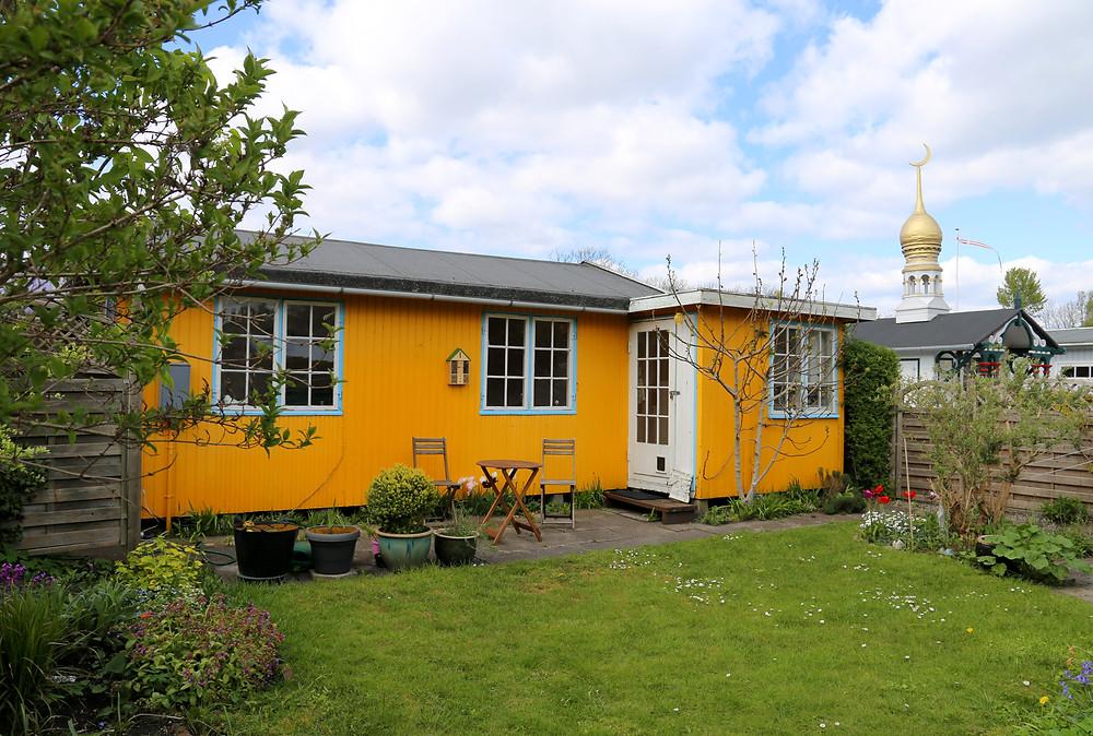 Hus og Kuppelhuset i Haveforeningen Vennelyst
