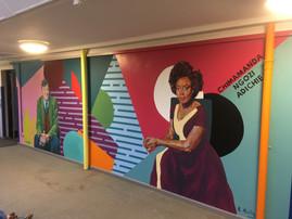 DMA Libary Mural