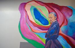 Mural at Downham Market Academy