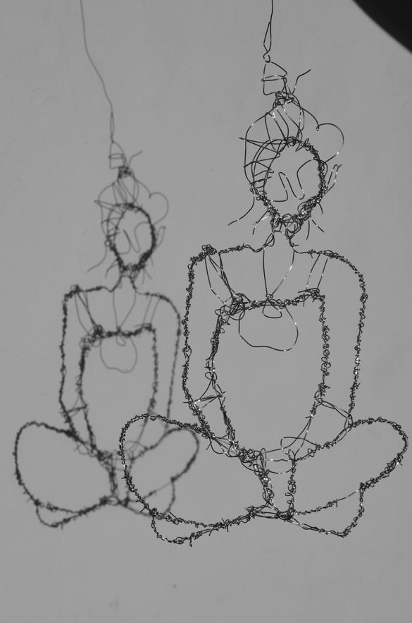 """""""Wire Self Portrait"""""""