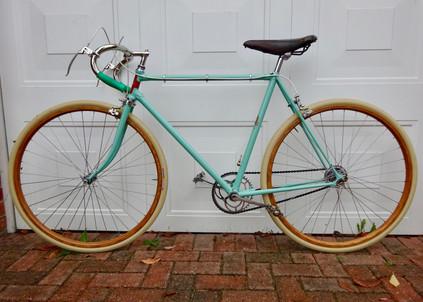 Reverse Full Bike