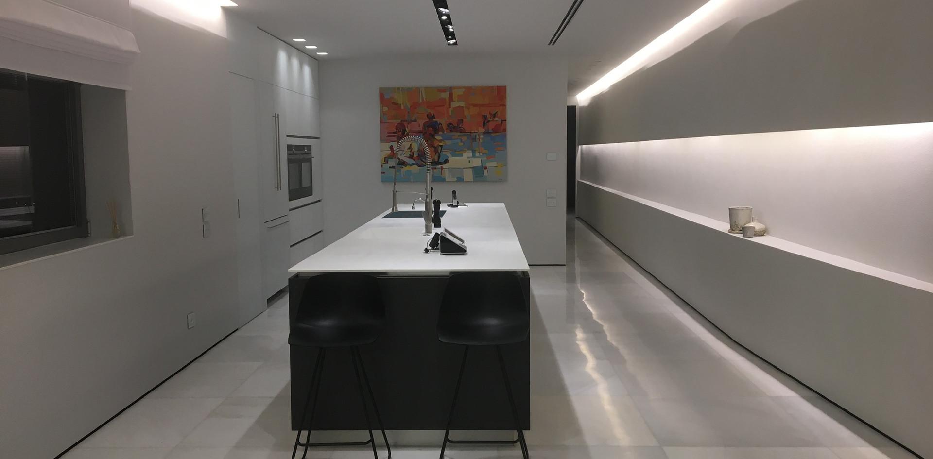 Nam Tower, kitchen