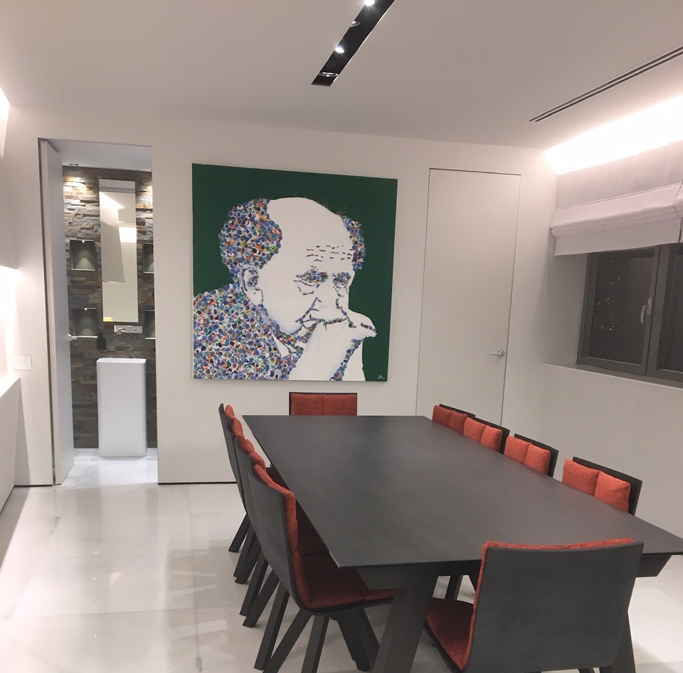 Nam Tower, dining area