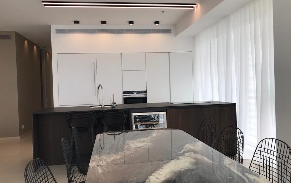 Rothschild blvd, kitchen