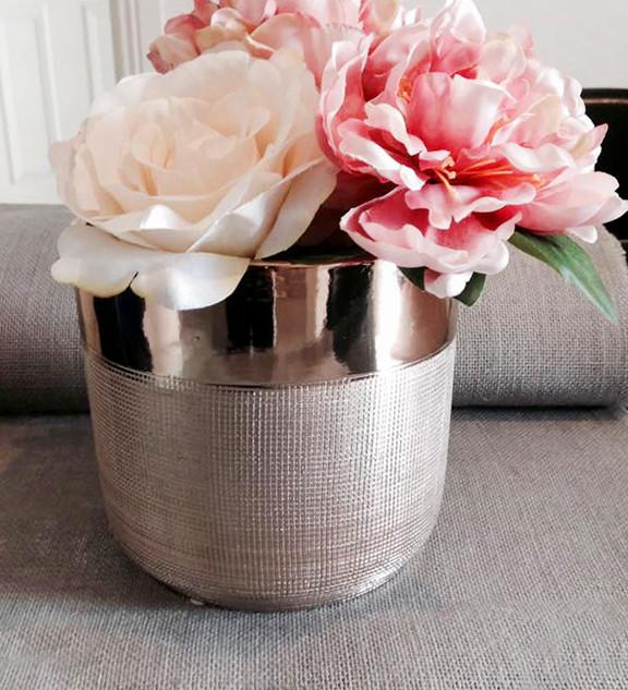 Rose Gold Vases