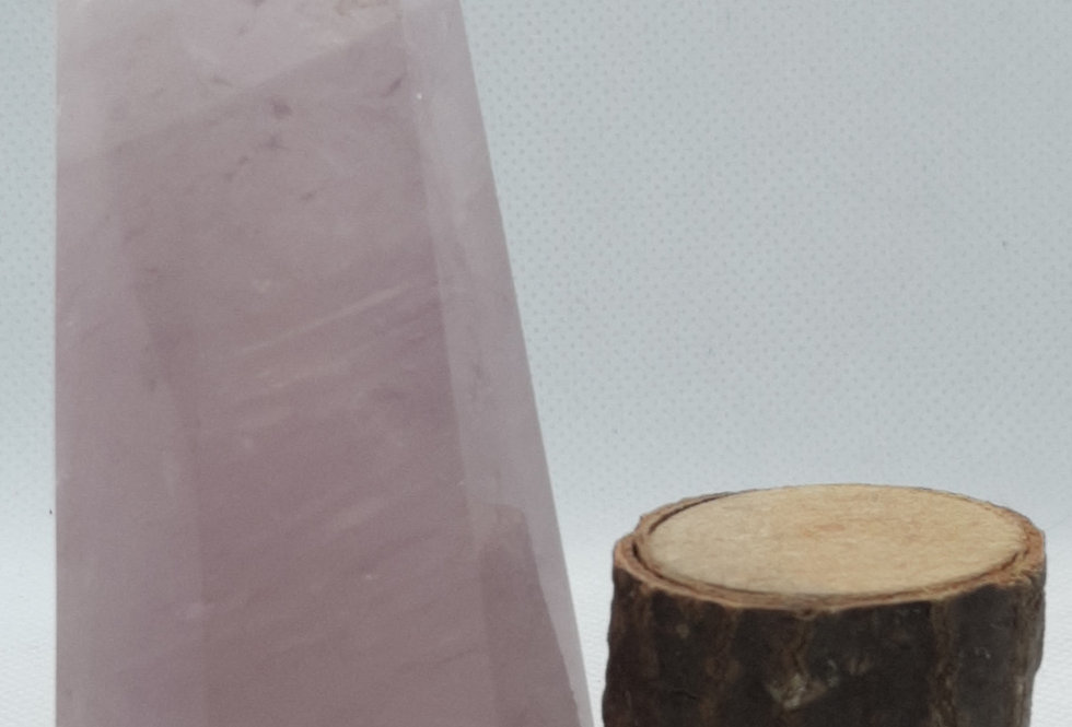 Rose Quartz Pillar