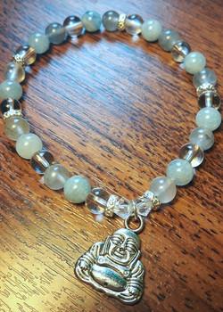 Crown Chakra Buddha Single Wrap $25