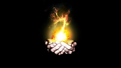 fire hands artwork flame black backgroun